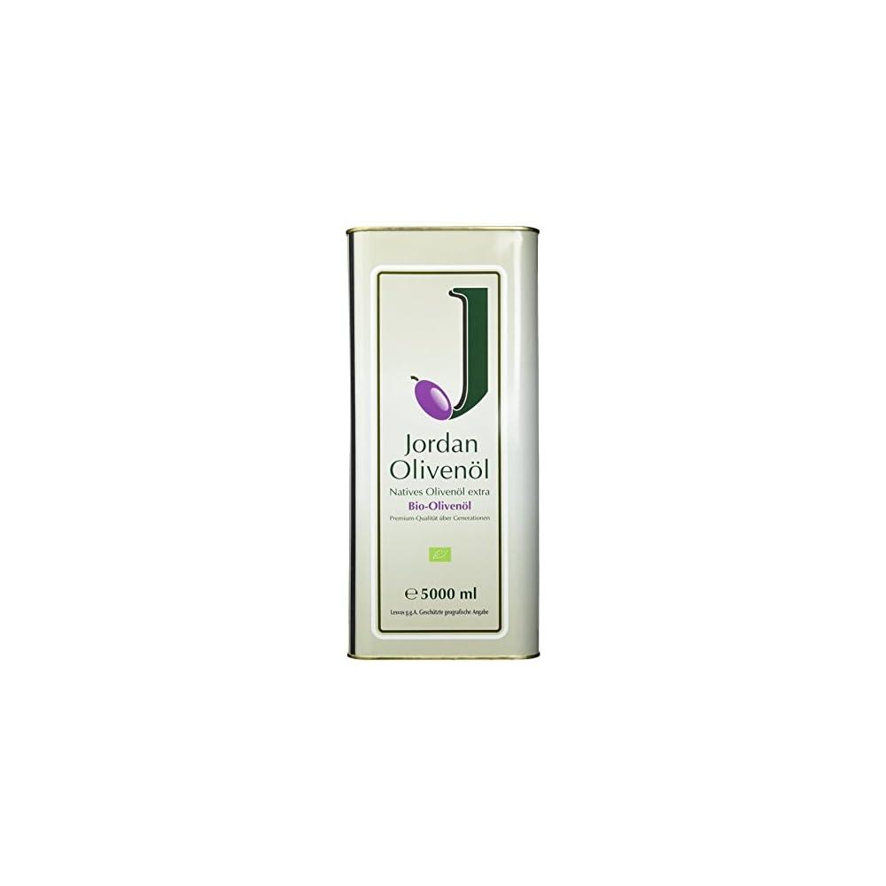 Jordan Olivenl Natives Bio Extra 500l Kanister 1er Pack 1 X 5 L