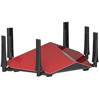 D-Link DIR-890L Cloud - Router WiFi Gaming AC3200 Tri-Banda (Tri-Banda, SmartBeam, 3200 Mbps, WPS, 4 Puertos Gigabit 10/100/1000 Mbps, 1 Puerto WAN Gigabit, WPA2, QoS, USB 3.0 + 2.0, DLNA)