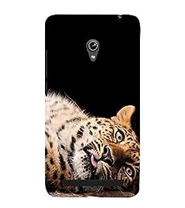 FUSON Baby Tiger Sleeping 3D Hard Polycarbonate Designer Back Case Cover for Asus Zenfone 5 A501CG
