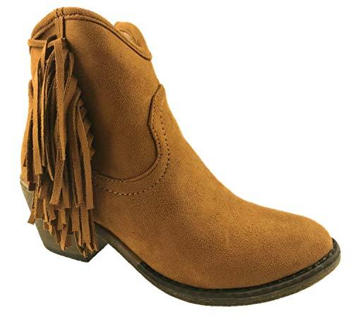 Generic ,  Damen Cowboy Stiefel, Braun - hautfarben - Größe: EU 37 -