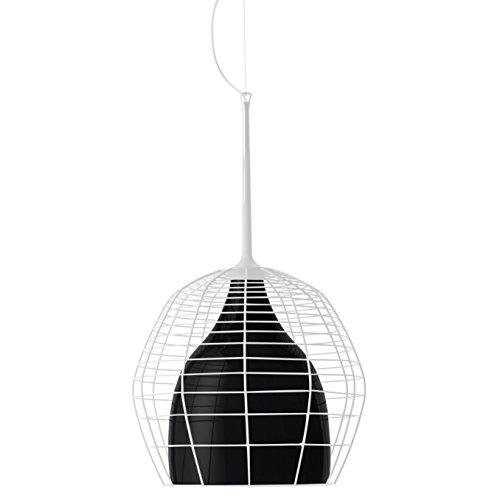 Diesel With Foscarini Cage Grand Lampe Suspendue Blanche/Noire