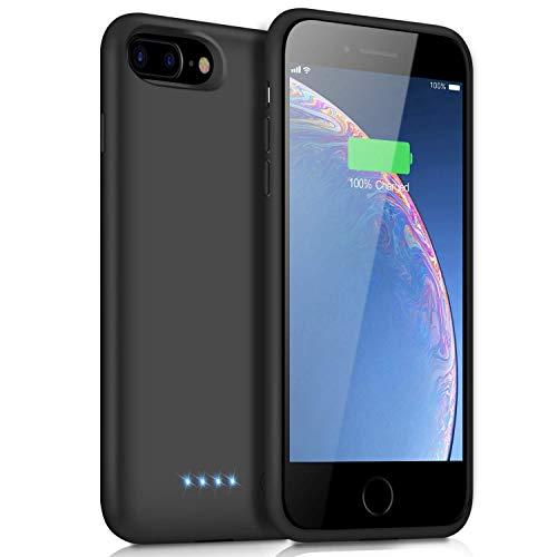 """iPosible Funda batería para iPhone 8 Plus/7 Plus/6S Plus/6 Plus - Haga clic en el amarillo """"Añadir a la cesta"""" Ahora! Experimente la funda de batería extendida 8500mAh cargando con seguridad iPhone 6 / 6S / 7/8 en cualquier momento y en cualquier lug..."""