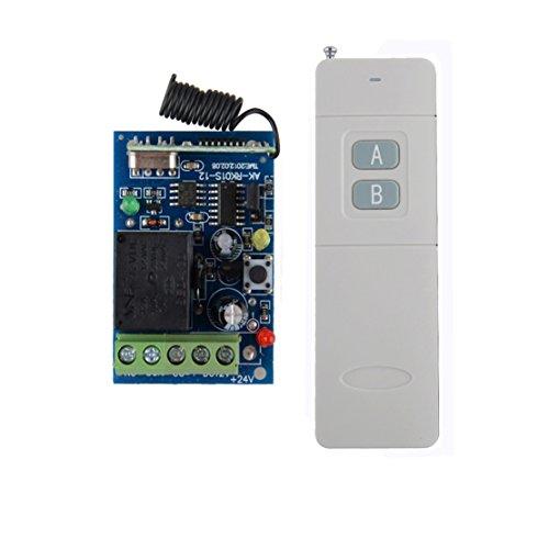 lejin DC 12V 10A 1canal Télécommande sans fil haute portée 300–500m RF Télécommande sans fil commutateur sans fil télécommande sans fil Système de contrôle sans fil récepteur d
