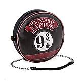 Karactermania Harry Potter Express-bolso Redondo Borsa Messenger, 19 cm, Nero (Negro)