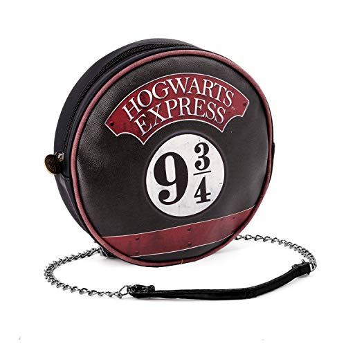 Karactermania Harry Potter Express Bolso Bandolera, 19 cm, Negro