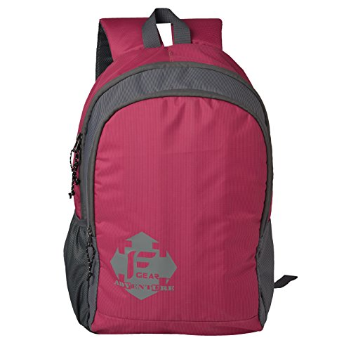 F Gear Castle Magenta 20 Liters Rugged Base Backpack  available at amazon for Rs.499