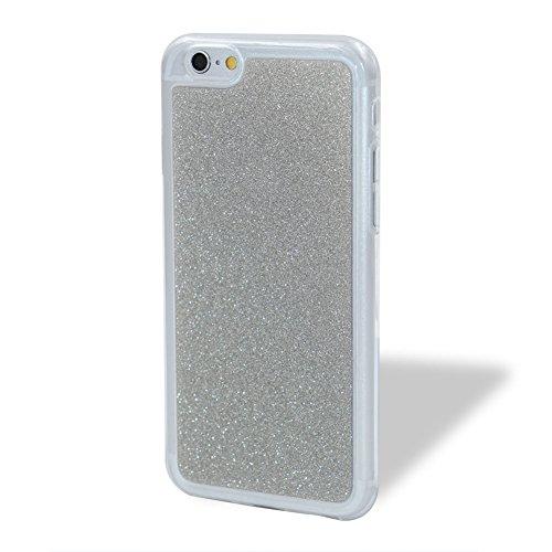 per iPhone SE/ 5S/ 5 Custodia case,Herzzer Mode Crystal per iPhone SE/ 5S/ 5 Creativo Elegante Transition Color con anello cover,Protettivo Skin lusso di Cristallo Diamante Glitter Bling Gradiente Col Argento