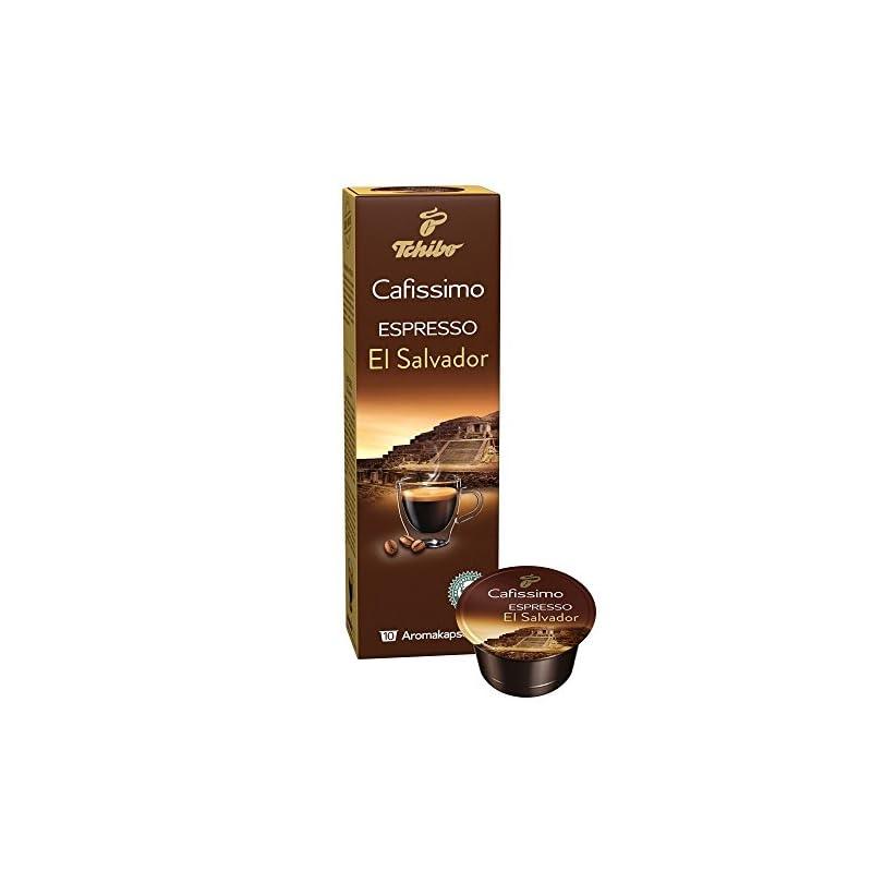 Tchibo Cafissimo Types of countries Espresso El Salvador, 80 capsules