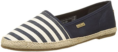 Tom Tailor Damen 2792007 Espadrilles, Blau (Navy), 38 EU
