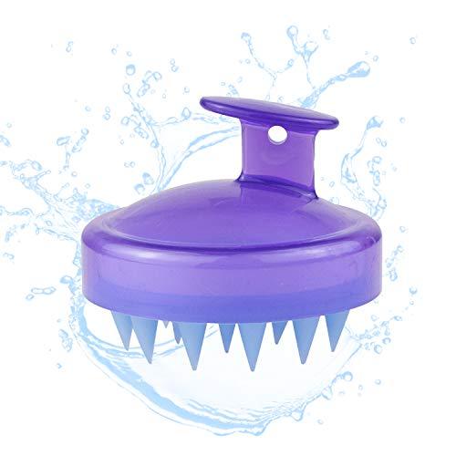 Cepillo masajeador champú de cuero cabelludo