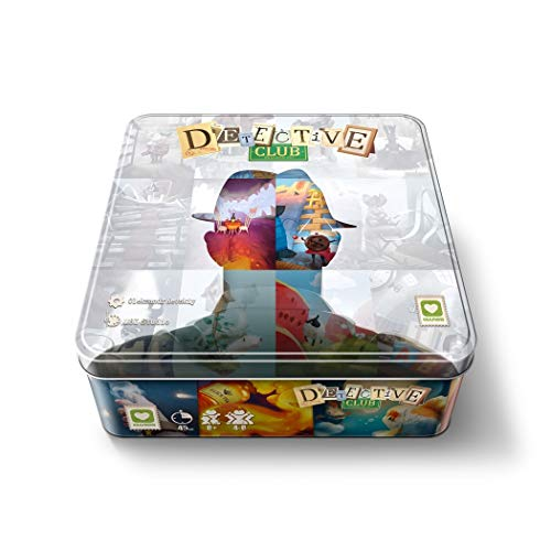 Extended Play Detective Club, Multicolor (Blockrock Games 8437015821719)
