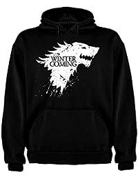 Sudadera de Hombre Juego de Tronos Stark Lanister Targaryen Jon Nieve Arya Coming