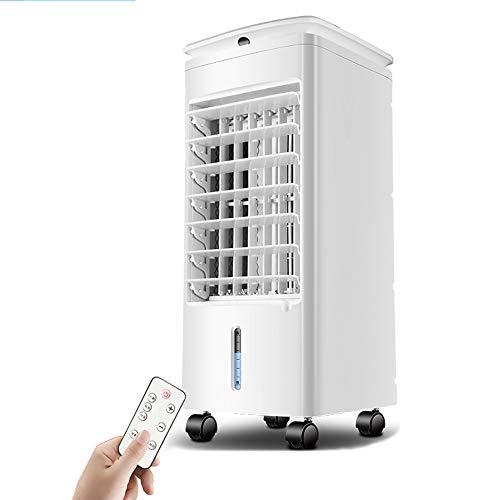 FANS MAZHONG Tragbarer Klimaanlagenlüfter 56W Weiß Silent Oscillation 3-Fach Kaltluft 7H Timer Office