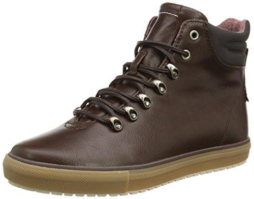 ESPRIT Mika Bootie, Sneaker alta donna, Marrone (Braun (210 brown)), 37