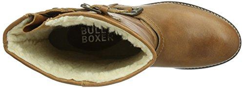 Bullboxer 702e6l520, Bottes courtes avec doublure chaude femme Marron - Braun (COGN)