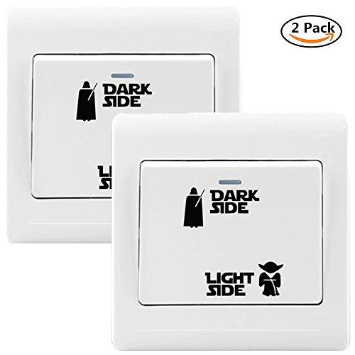 Yovvin 2 Pack Star Wars Vinyl Sticker für -