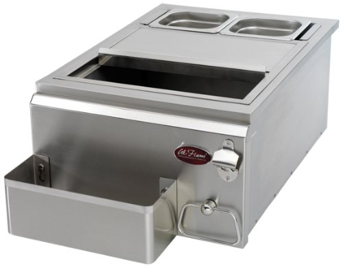 Cal Flame BBQ07842P-18-A 18-Inch Cocktail Center