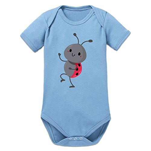 Shirtcity Cute Waving Ladybug Baby One Piece by