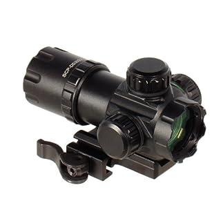 UTG Erwachsene Scp-DS3039W Leuchtpunktvisier, Schwarz, One Size