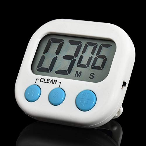 Kitchen Timers - Cooking Magnetic Digital Lcd Screen Positive Timing Hanging Hole Timer Loud Sound Countdown Gadgets - Vintage Kitchen Clock Magnetic Bulk Rope Colored Loud Animals Decorativ Cool Cooking-gadgets