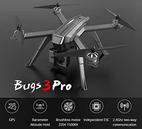 Amyove Quadcopters MJX Bugs 3 Pro Pro Pro B3 Pro ESC indépendant sans balais avec GPS Follow Me Altitude Hold RC Drone Quadricoptère European regulations Without Camera | Pour Assurer Problèmes Pendant Des Années-service Gratuit  3dce55