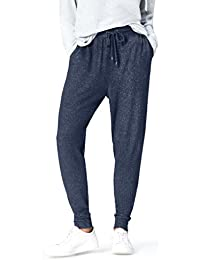 find. Damen Hose Joggers with Drawstring Waist and Tapered Cut