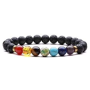 J.Fée 7 Chakra Stretch Bracelet