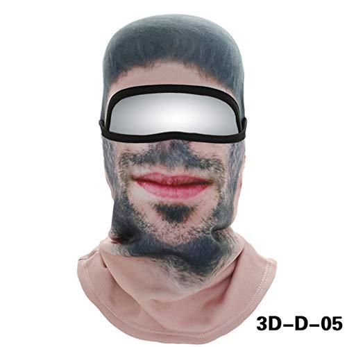 JAYE 3D Pasamontañas Mascarilla