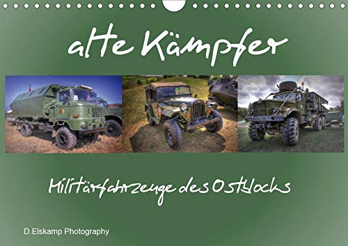 alte Kämpfer- Militärfahrzeuge des Ostblocks (Wandkalender 2020 DIN A4 quer)