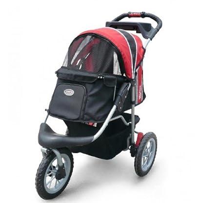 Pet Stroller,IPS-070, Black/Silver, Dog Carrier, Trolley, Innopet, Comfort EFA Buggy. Foldable pet buggy, pushchair… 4
