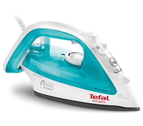 Tefal FV3910 - Plancha de vapor, 2200 W, color blanco y azul