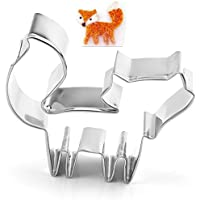 Fox Cookie Cutter- Stainless