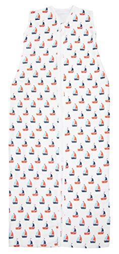 ZOLLNER Sommerschlafsack aus Baumwolle, Größe 110 (weitere verfügbar)