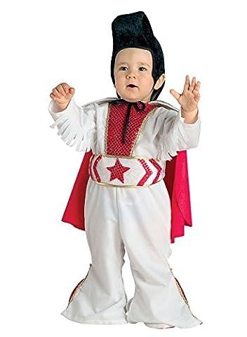 Kostüm Elvis für Kleinkinder, Baby Kostüm Rockstar, Größe:74 (Kühle Halloween-kostüme 2016)