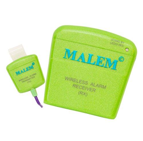 Alarma de enuresis inalámbrica Malem MO12 (verde)