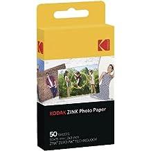 Kodak ZINK Photo Paper 50pieza(s) 50 x 76mm película instantáneas - Película fotográfica instantánea (50 pieza(s))