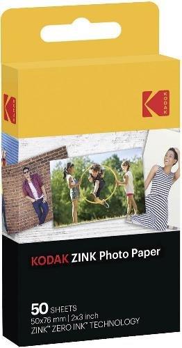Kodak Zink Photo Paper 50Stück (S) 50x 76mm Film Snapshots–Film unmittelbar (50Stück (S))