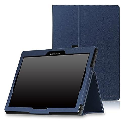MoKo Etui Tab 2 A10-70 / Tab 3 10 - Etui fin et pliable pour Tablette Lenovo Tab 2 A10-70, Tab 2 A10-30(TB2-X30F), Tab 3 10 Business 10