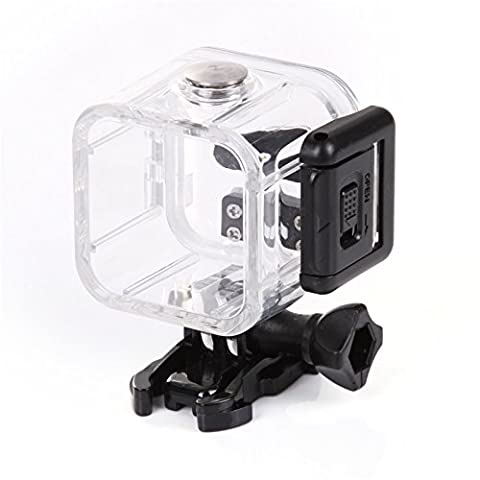 JOYOOO For GoPro 4 Hero Session Replacement Diving Waterproof Case/ Boîtier étanche pour Caméra Sports Diving Housing Protective Case Cover with Bracket & Screw