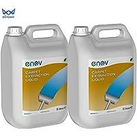 Enov C002 Heavy Duty Carper Extraktionshampoo, 5 l, 2 Stück