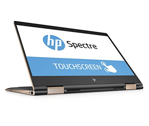 HP Spectre x360 13-ae002ng (Touchdisplay 13,3 Zoll) Convertible Laptop (Intel Core i7-8550U, 512GB SSD, 16GB RAM, Intel UHD Graphics, Windows 10 Home) Grau/Kupfer