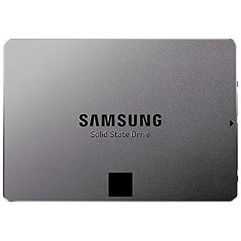 Samsung MZ-7TE250BW Serie 840 EVO Basic interne SSD (6,3 cm (2,5 Zoll), 250GB, 512MB Cache, SATA III) metallic