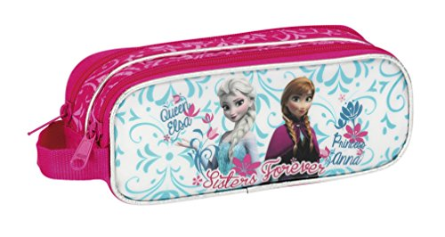 Disney – 811438513 – Plumier Doble 34 pzas Frozen