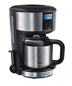 Russell Hobbs 20690-56 Macchina Caffè, Raggiunge Velocemente la Temperatura Ottimale,1000W, Acciaio Satinato