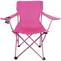 Iris Folding Beach Chair with Carry Bag (Pink)