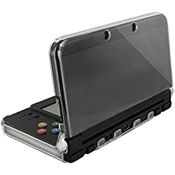 Orzly® - Coque InvisiCase pour console New Nintendo 3DS Modèle 2015 - 100% Transparente - Protection Totale Cover Shell