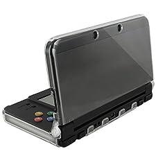 Orzly® - InvisiCase per Nintendo New 3DS Console (2015 Modello) - Custodia di Protezione Copertura Shell - 100% TRANSPARENTE