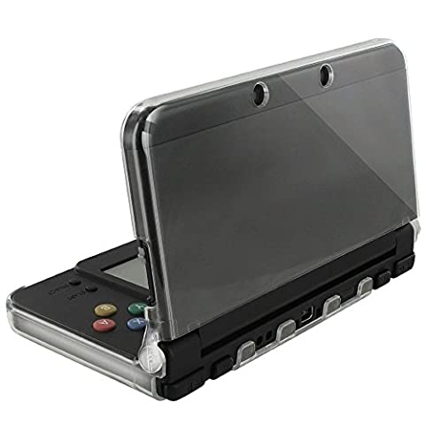 Orzly® - Coque InvisiCase pour console New Nintendo 3DS Modèle 2015 - 100% Transparente - (Sandisk Modello)