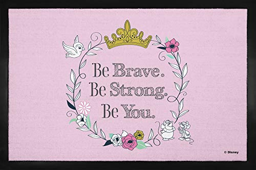 1art1® Princesas Disney - Be Brave Be Strong Be You