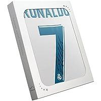 exclusivememorabilia.com Camiseta de fútbol auténtica del Real Madrid 2017-18 firmada por Cristiano Ronaldo. En caja de regalo